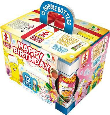 Merchandising Dulcop Bolle Di Sapone - Party Pack 12 Pz 60 Ml - Party Happy Birt