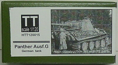 Panther Version G, Hauler, 1/120, TT, Resin , Etched parts NEW