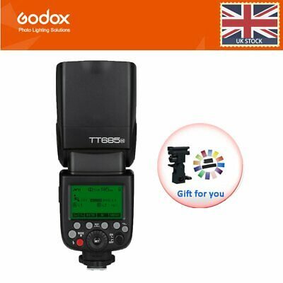 UK Godox TT685N 2.4G HSS 1/8000s i-TTL GN60 Wireless Speedlite Flash for Nikon