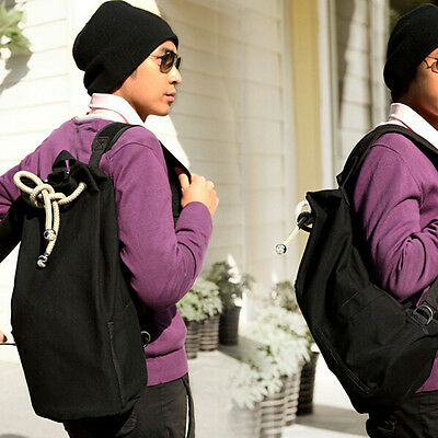 Outdoor Sport Pack Gym Duffle Bag Drawstring Backpack for Travel School New