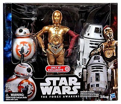Star Wars Rouge One Großes Figuren Set - BB-8 + C-3PO + RO-4LO ( 12-28 cm groß)