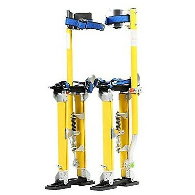 Pentagon Tool Mag Pros Magnesium 18in-30in Yellow Drywall Stilts Highest Quality
