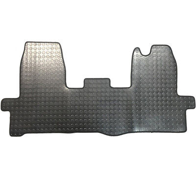 Ford Transit Mk8 Rubber Mat Floor Mats Front Tailored 1 Piece 2014 On >