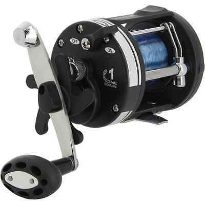 SEA FISHING MULTIPLIER REEL LOADED WITH 25lb BLUE SEA LINE LS3000 NGT