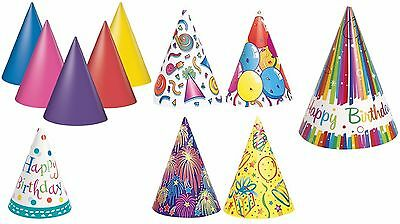 Pack of 8 Party Paper Hats