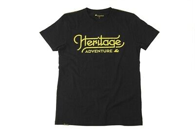 "TOURATECH Heritage T-Shirt ""Two Wheels, No Limits"" Herren"