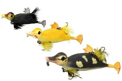 Savage Gear 3D Suicide Duck / 28g 10,5cm / TOPWATER / 3 COLOURS! for pike, bass