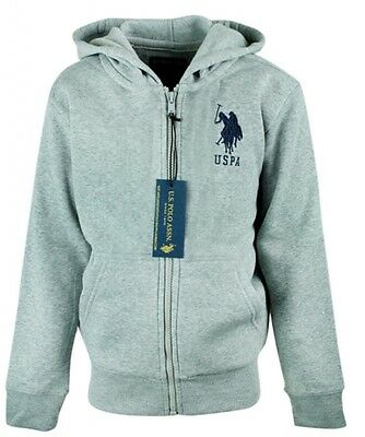 Boys Ex US Polo ASSN Thermal Fleece Hoodie Jacket Toddler size 2 - 13 Years