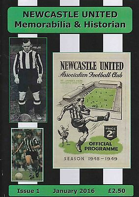 Newcastle United Historian And Memorabilia Magazine Issue No 1
