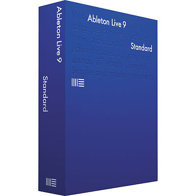 Ableton Live 9 Standard Full Retail Version - Music Production DAW Software