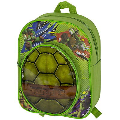 NEW OFFICIAL Teenage Mutant Ninja Turtles TMNT Boys Backpack Rucksack School Bag