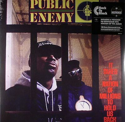 PUBLIC ENEMY - It Takes A Nation Of Millions To Hold Us Back - Vinyl (LP)