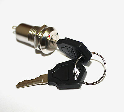 Key Switch ON /OFF Lock Switch Two Keys Mini Key Switch Ignition K3 Key Set fe