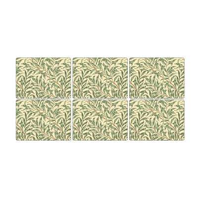 Pimpernel Morris & Co Willow Boughs table mats Place mats and Coasters set of 6