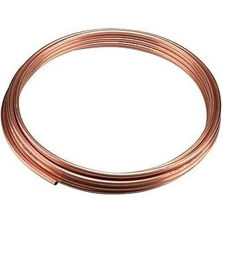 """NEW 3/16"""" (approx 5mm) microbore gas water copper plumbing pipe/tube, 50cm UK"""