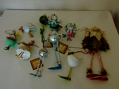 Lot 10 KRINKLES By Patience Brewster Christmas Tree Ornaments