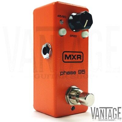 New! Dunlop MXR M290 Mini Phase 95 Phaser Pedal - Free US Shipping