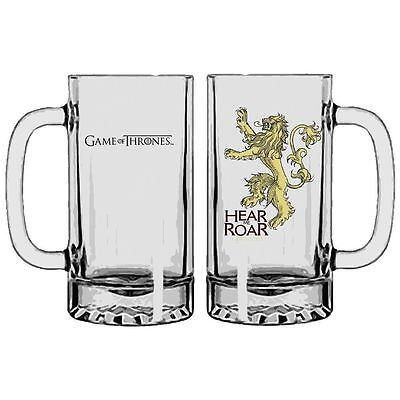 Game Of Thrones Stein Glass Hear Me Roar Lannister