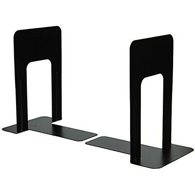 Book Stands Officemate Bookends, 9 Inches, Non-Skid Base, Black, 4 Pack New