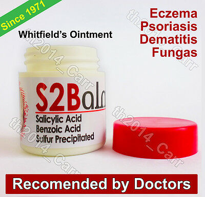 WHITFIELD'S OINTMENT 20g Eczema Dermatitis Psoriasis  Athletes Foot & Irritation