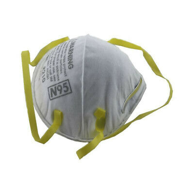 10Pcs 3M Dust Respirators 8210 N95 Face Safety Respirator Mask Masks