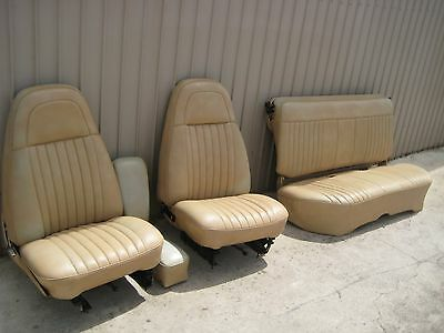 Chrysler Valiant Station Wagon Front and Rear Seats