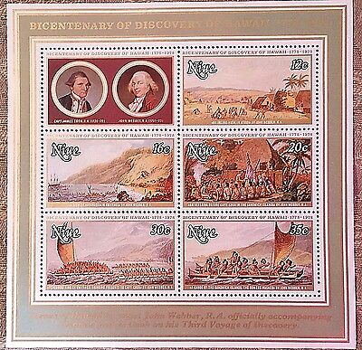 Niue Souvenir Sheet Mint...worldwide Stamps