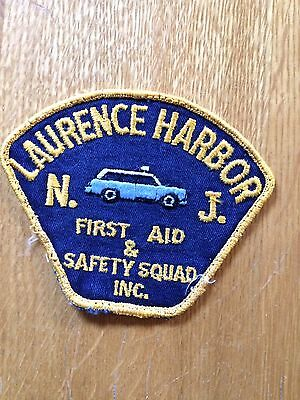 Laurence Harbor N.J. First Aid & Safety Squad Inc. Patch