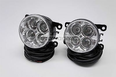 Jaguar X Type S Type LED Front Fog Lights Lamps Set Pair With Wiring OEM