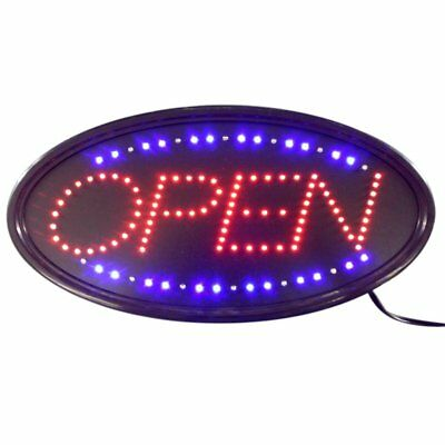 Ultra Bright LED Neon Light Animated Motion with ON/OFF OPEN Business Sign US WP