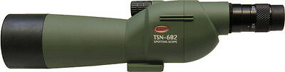 Kowa TSN-602 Spotting scope with 20-40x zoom eyepiece.