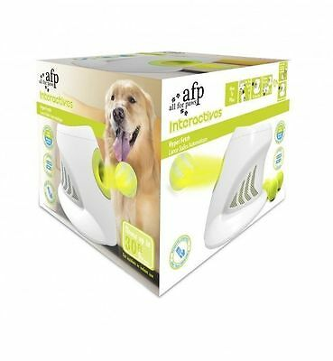 All For Paws AFP Dog Puppy Hyper Fetch Chase Throw Ball Game Toy