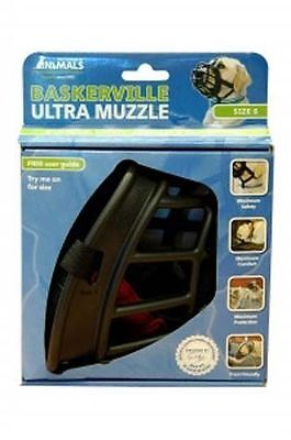 Company of Animals Baskerville Ultra Muzzle Size 6 -Adjustable Deluxe Dog Muzzle