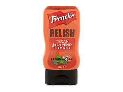 French's Jalapeno Tomato Relish 320g