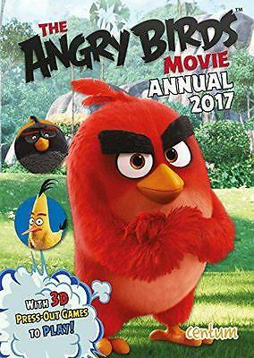Angry Birds Movie Annual 2017 Hardcover Book Centum Books Stories Crafts & Games