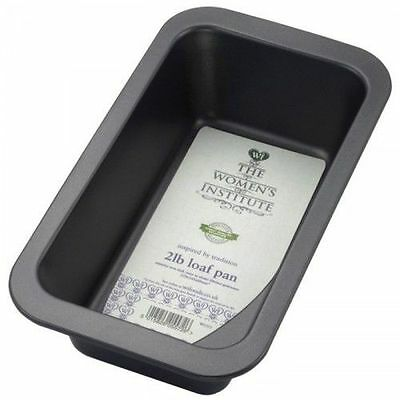 The Women's Institute Steel Non-Stick Loaf Baking Pan - 2lb/26cm