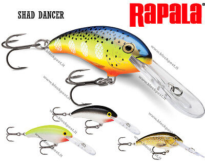 Rapala Shad Dancer SDD05, 5 cm, 7g  Different colors, New 2017