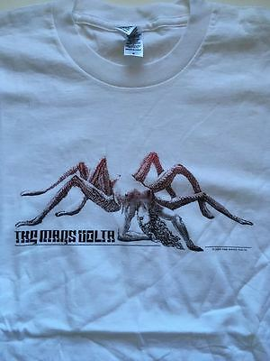 THE MARS VOLTA Spider Woman original t-shirt white 2004 Adult S