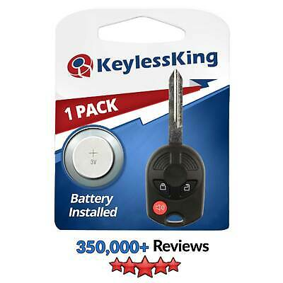 Remote Key Fob Uncut for  2006 2007 2008 2009 2010  Ford F 150 250 350