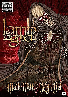 NEW 2DVD SET // LAMB OF GOD - WALK WITH ME IN HELL -  4 HOURS 31 min -