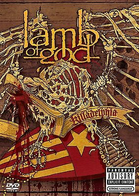 NEW DVD// LAMB OF GOD - KILLADELPHIA - 3HR - 15 TRACKS + 2 Hr EXTRAS