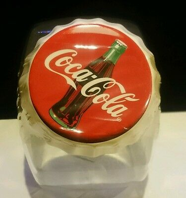Anchor Hocking Coca-Cola Cookie Jar Made In The USA