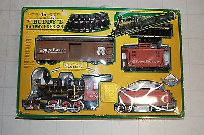 Buddy L Railway Express Limited Edition Train Set G Scale 1 of 1000 TESTED!