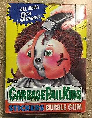 "1987 Garbage Pail Kids 9th Series, 48 Unopened ""ALL NEW"" Packs, CANADA Box! TWT"