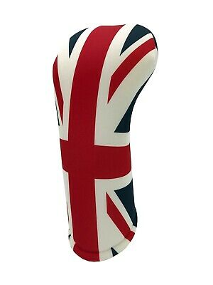 UNION JACK FAIRWAY Golf Club Head Cover Cover Easy ON & Off USA MADE