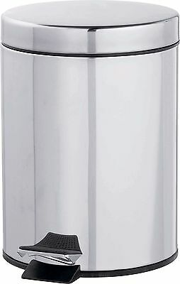Simple Value 5L Litre Pedal Bin - Stainless Steel -From the Argos Shop on ebay