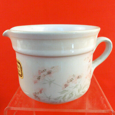 "BRITTANY Denby CREAMER SMALL 2.75"" tall OVENWARE NEW NEVER USED made in England"
