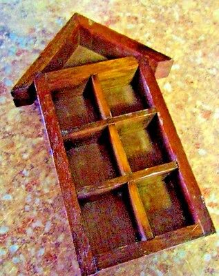 display wood shelf for thimbles