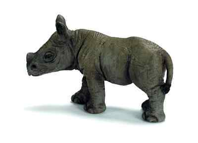 Schleich African Black Rhino Calf Figure - Free 2 Day Shipping