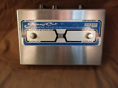 Roland AG-5 Harmonic Distortion Guitar, Synth, Vocal Effects Pedal funny cat